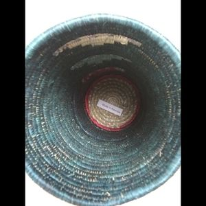 Accents - Bohemian style woven cylinder vase